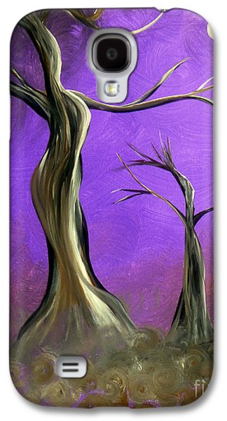 Wicca Paintings Galaxy S4 Cases - Mother And Child Galaxy S4 Case by Alys Caviness-Gober