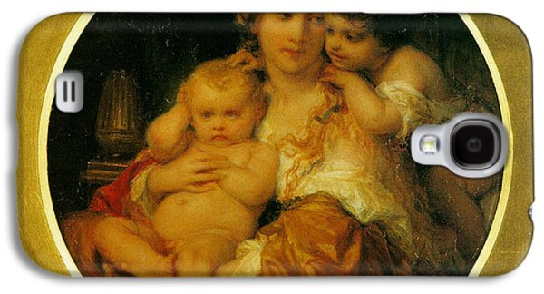 Mother And Child Galaxy S4 Case by Paul  Delaroche