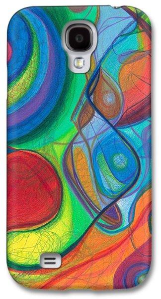 Daina White Galaxy S4 Cases - Mother Earth - Plant Healing - Gaia - Heart Chamber Awakening Galaxy S4 Case by Daina White