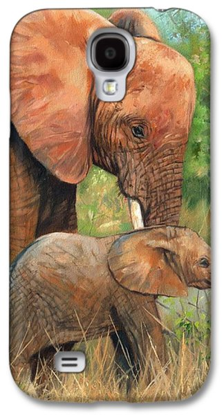 Tusk Galaxy S4 Cases - Mother Love 2 Galaxy S4 Case by David Stribbling