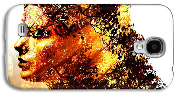 The Trees Mixed Media Galaxy S4 Cases - Mother Nature Galaxy S4 Case by Marian Voicu