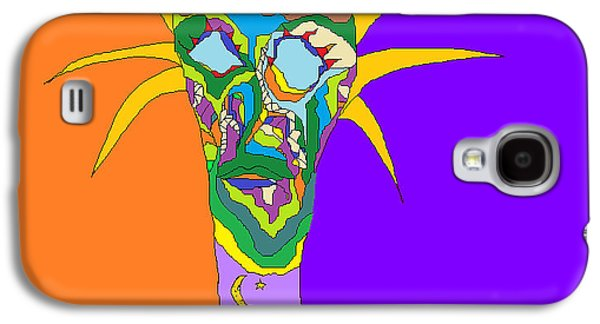 Abstract Landscape Sculptures Galaxy S4 Cases - Mother of Nature Galaxy S4 Case by Willie Anicic