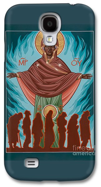 Mother Of Sacred Activism With Eichenberg's Christ Of The Breadline Galaxy S4 Case by William Hart McNichols