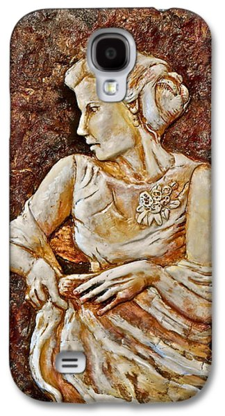 Figures Reliefs Galaxy S4 Cases - Mother of the Bride Galaxy S4 Case by Phyllis Dunn