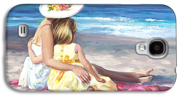 Beach Landscape Galaxy S4 Cases - Mothers Love Galaxy S4 Case by Laurie Hein