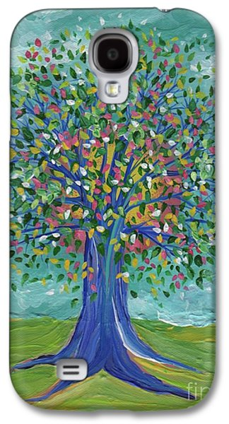 Abstract Digital Paintings Galaxy S4 Cases - Mothers Tree by jrr Galaxy S4 Case by First Star Art