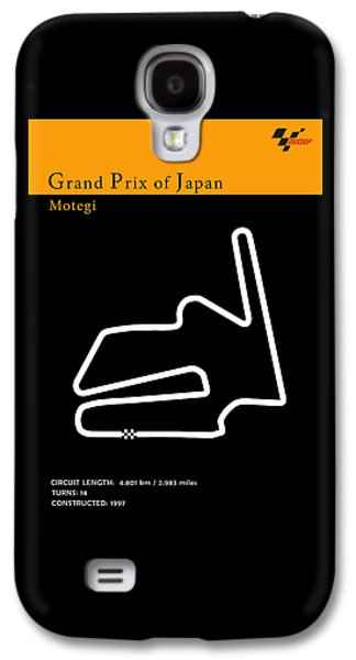 Sports Photographs Galaxy S4 Cases - Moto GP Japan Galaxy S4 Case by Mark Rogan