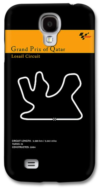 Sports Photographs Galaxy S4 Cases - Moto GP Qatar Galaxy S4 Case by Mark Rogan