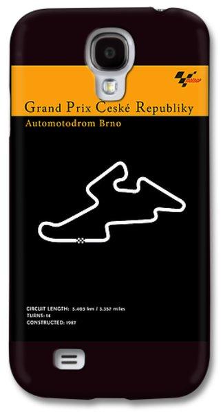 Sports Photographs Galaxy S4 Cases - MotoGP Czech Republic Galaxy S4 Case by Mark Rogan