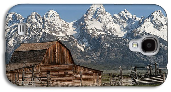 Moulton Barn - Grand Tetons I Galaxy S4 Case by Sandra Bronstein