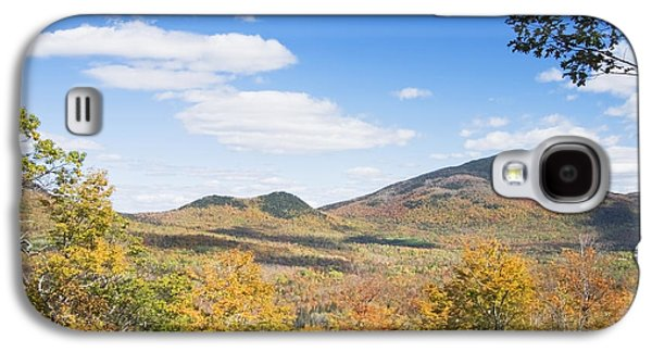 Maine Mountains Galaxy S4 Cases - Mount Blue State Park In Fall Weld Maine Galaxy S4 Case by Keith Webber Jr