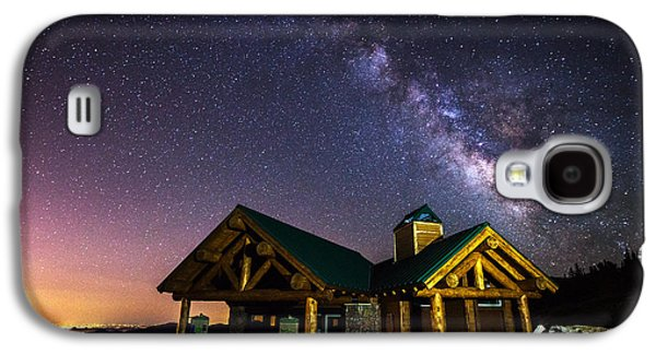 Landscape Acrylic Prints Galaxy S4 Cases - Mount Evans Visitor Cabin Galaxy S4 Case by Darren  White