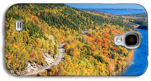 Maine Roads Galaxy S4 Cases - Mount Jordan Pond, Acadia National Galaxy S4 Case by Panoramic Images