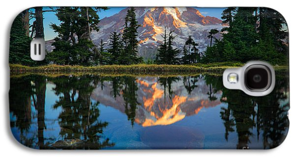 Strong America Galaxy S4 Cases - Mount Rainier from Tatoosh Range Galaxy S4 Case by Inge Johnsson