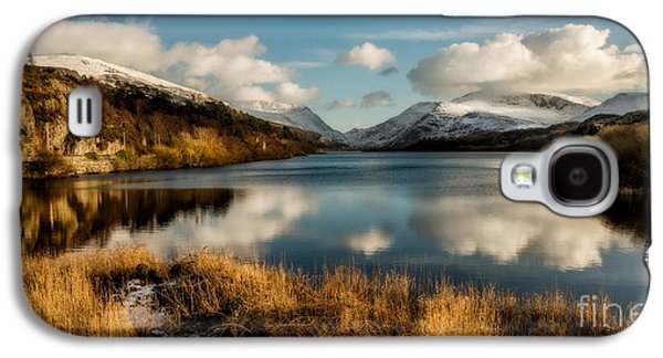 Waterscape Galaxy S4 Cases - Mount Snowdon Galaxy S4 Case by Adrian Evans