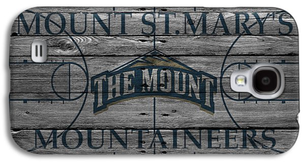Dunk Galaxy S4 Cases - Mount St Marys Mountaineers Galaxy S4 Case by Joe Hamilton