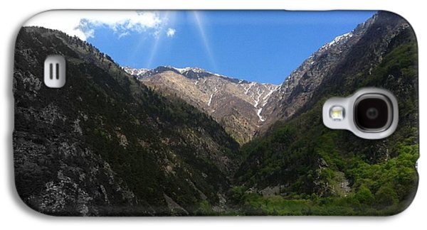 Fauna Pyrography Galaxy S4 Cases - mountain Georgia Galaxy S4 Case by Yury Bashkin