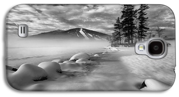 Maine Mountains Galaxy S4 Cases - Mountain in the Mist Galaxy S4 Case by Darylann Leonard Photography