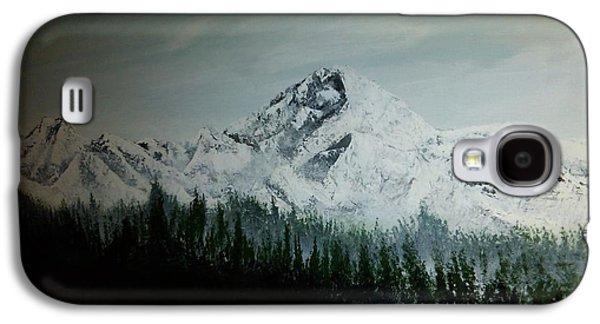 Erik Coryell Galaxy S4 Cases - Mountain Range Galaxy S4 Case by Erik Coryell
