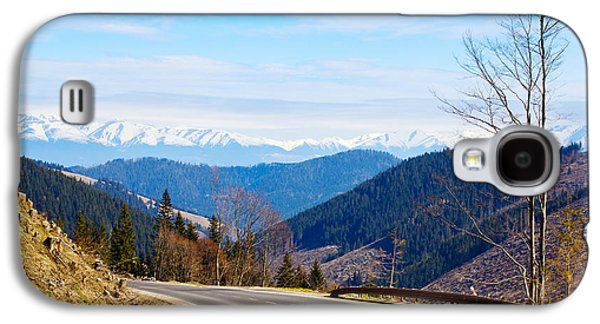 Mountain Road Galaxy S4 Cases - Mountain Road In A Valley, Tatra Galaxy S4 Case by Panoramic Images