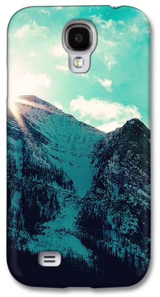 Mountain Starburst Galaxy S4 Case by Kim Fearheiley
