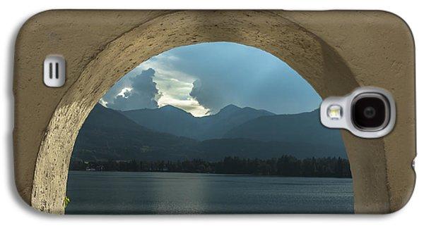 Salzburg Galaxy S4 Cases - Mountain view Galaxy S4 Case by Chris Fletcher