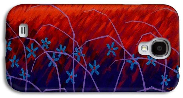 Purple Prints Galaxy S4 Cases - Mountain View  Galaxy S4 Case by John  Nolan