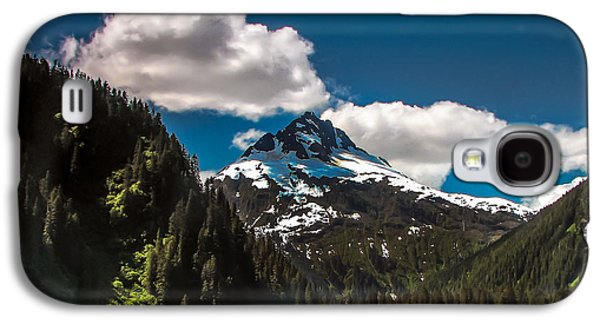 Haybale Galaxy S4 Cases - Mountain View Galaxy S4 Case by Robert Bales