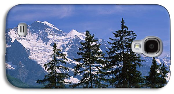 Swiss Photographs Galaxy S4 Cases - Mountains Covered With Snow, Swiss Galaxy S4 Case by Panoramic Images
