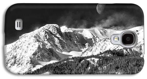 Enterprise Galaxy S4 Cases - Mountains of the Moon Galaxy S4 Case by Adele Buttolph