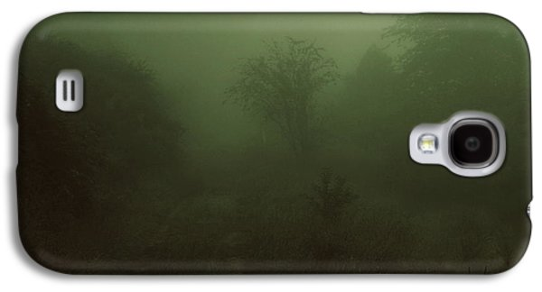 Contemplative Photographs Galaxy S4 Cases - Mountains Path in Mist Galaxy S4 Case by Caleb Williams