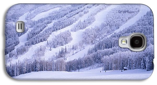 Steamboat Galaxy S4 Cases - Mountains, Snow, Steamboat Springs Galaxy S4 Case by Panoramic Images