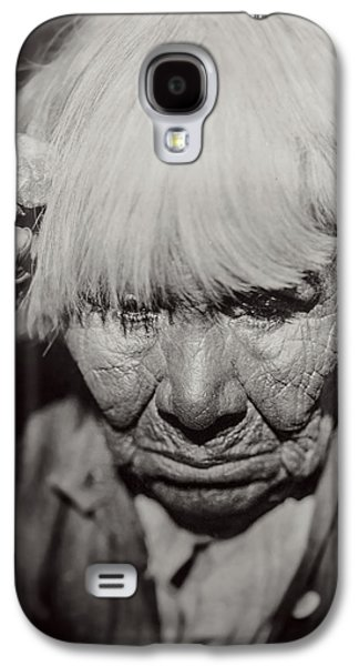 Crying Galaxy S4 Cases - Mourning Circa 1924 Galaxy S4 Case by Aged Pixel