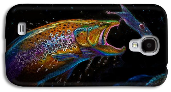 Rainbow Trout Galaxy S4 Cases - Mouse Trap  Galaxy S4 Case by Yusniel Santos