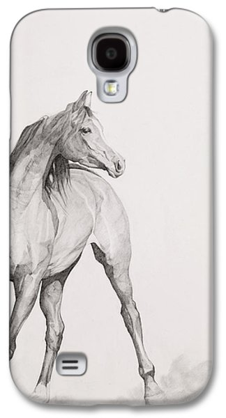 Equestrian Prints Galaxy S4 Cases - Moving Image Galaxy S4 Case by Emma Kennaway