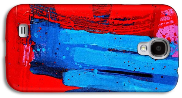 Abstract Movement Paintings Galaxy S4 Cases - Mox Nox Galaxy S4 Case by John  Nolan