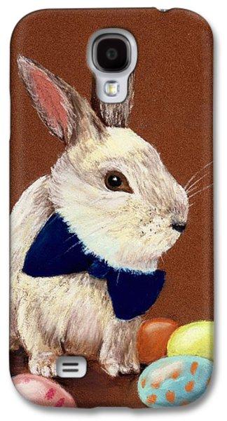 Religious Pastels Galaxy S4 Cases - Mr. Rabbit Galaxy S4 Case by Anastasiya Malakhova