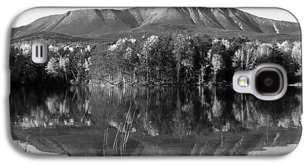 Gordon Photographs Galaxy S4 Cases - Mt Katahdin Black and White Galaxy S4 Case by Glenn Gordon