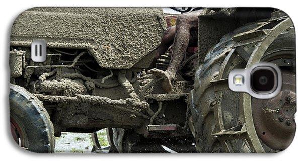 Machinery Galaxy S4 Cases - Mud Galaxy S4 Case by Tim Gainey