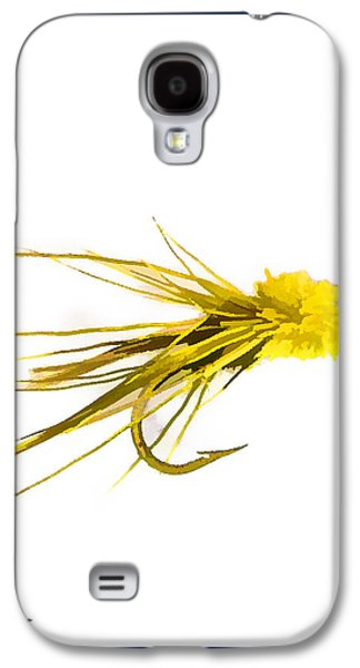Flies Mixed Media Galaxy S4 Cases - Fly Fishing - Muddler Minnow Galaxy S4 Case by Barry Jones