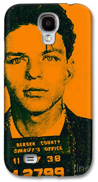 Wing Chee Tong Galaxy S4 Cases - Mugshot Frank Sinatra v1 Galaxy S4 Case by Wingsdomain Art and Photography