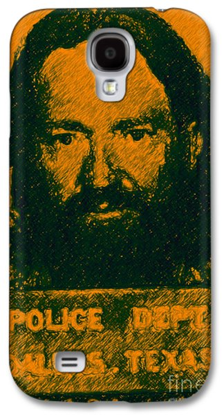 Wing Tong Galaxy S4 Cases - Mugshot Willie Nelson p0 Galaxy S4 Case by Wingsdomain Art and Photography