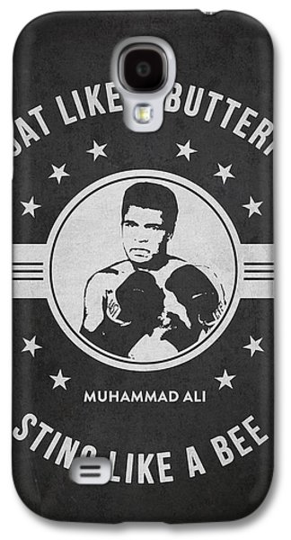 Heavyweight Digital Galaxy S4 Cases - Muhammad Ali - Dark Galaxy S4 Case by Aged Pixel