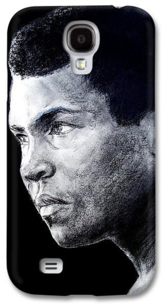 Boxer Drawings Galaxy S4 Cases - Muhammad Ali formerly known as Cassius Clay III Galaxy S4 Case by Jim Fitzpatrick