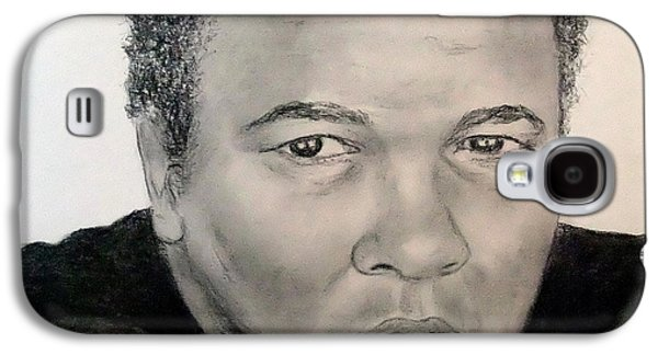 Boxer Drawings Galaxy S4 Cases - Muhammad Ali formerly known as Cassius Clay Galaxy S4 Case by Jim Fitzpatrick