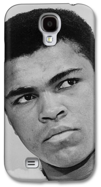 Heavyweight Digital Galaxy S4 Cases - Muhammad Ali Galaxy S4 Case by Ira Rosenberg