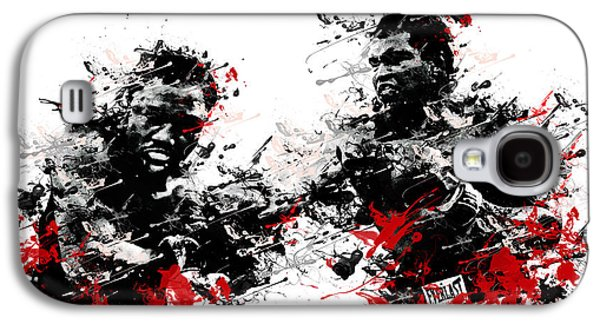Recently Sold -  - Boxer Digital Galaxy S4 Cases - Muhammad Ali Galaxy S4 Case by MB Art factory