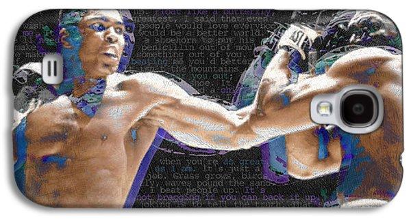 Muhammad Ali Galaxy S4 Case by Tony Rubino