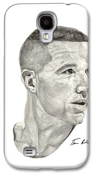 Nba Paintings Galaxy S4 Cases - Mullin Galaxy S4 Case by Tamir Barkan
