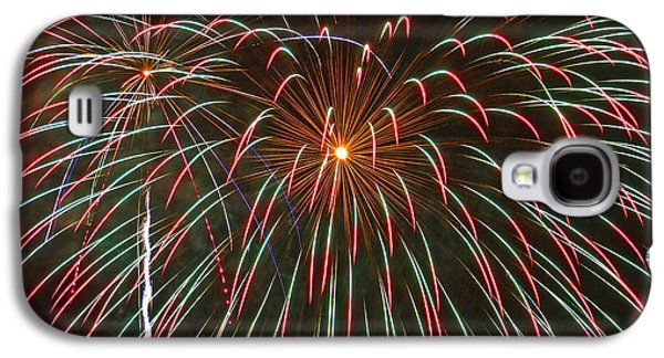 4th July Galaxy S4 Cases - 4th of July Fireworks 16 Galaxy S4 Case by Howard Tenke